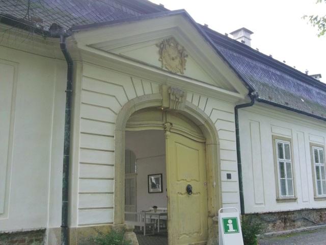 Północne wejście do zamku